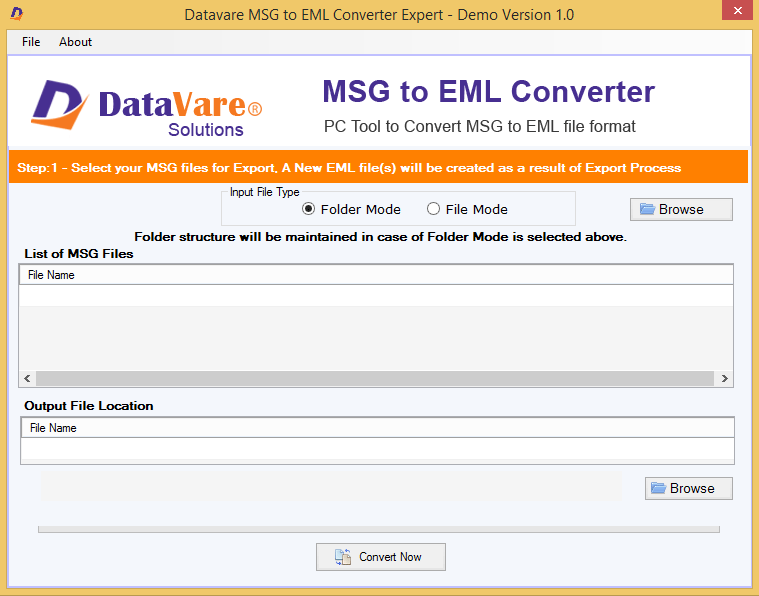 Toolsbaer MSG to EML Conversion Tool