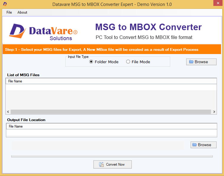 Toolsbaer MSG to MBOX Conversion Tool
