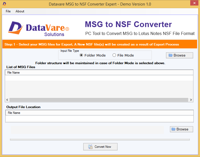 Toolsbaer MSG to NSF Conversion Tool