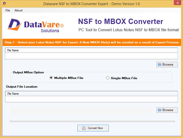 Windows 7 Toolsbaer NSF to MBOX Conversion Tool 1.0 full