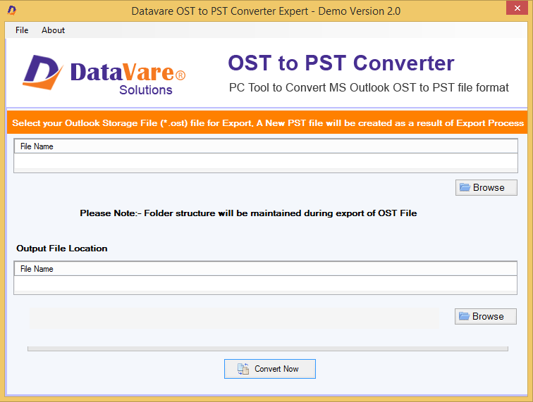 Toolsbaer OST to PST Converter Tool full screenshot