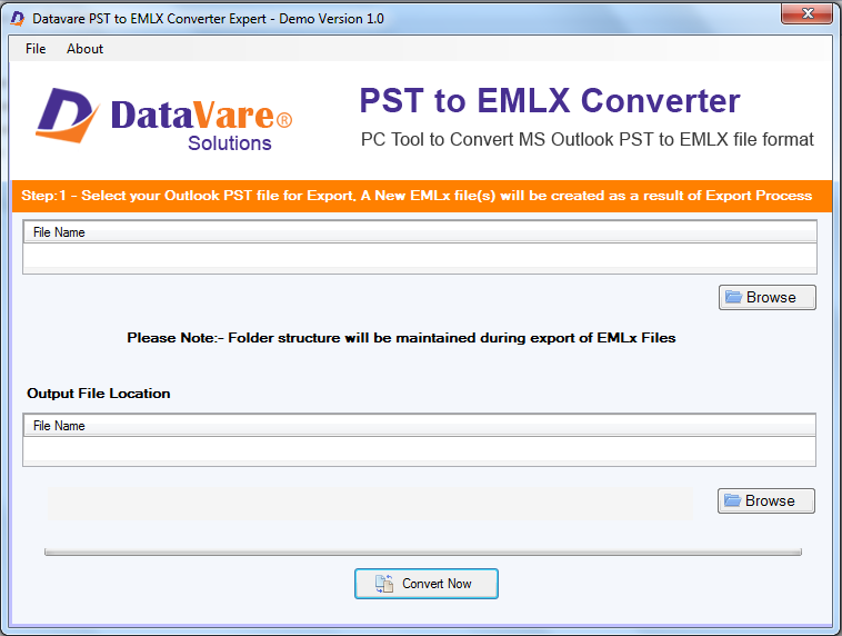 Toolsbaer PST to EMLX Conversion Tool