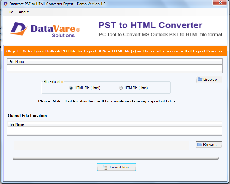 Toolsbaer PST to HTML Conversion Tool