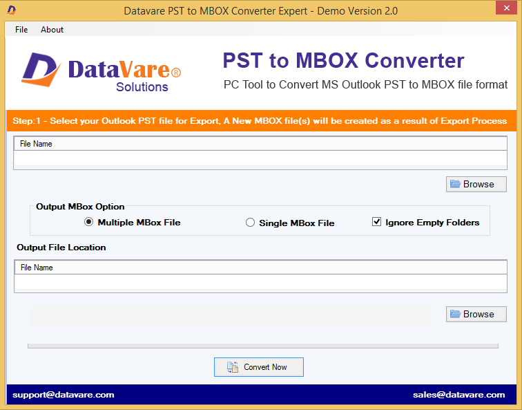 Windows 7 Toolsbaer PST to MBOX Conversion Tool 2.0 full
